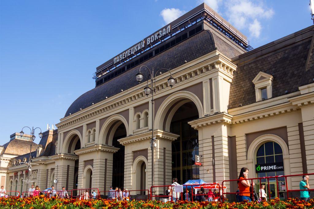Pawelezer Bahnhof in Moskau