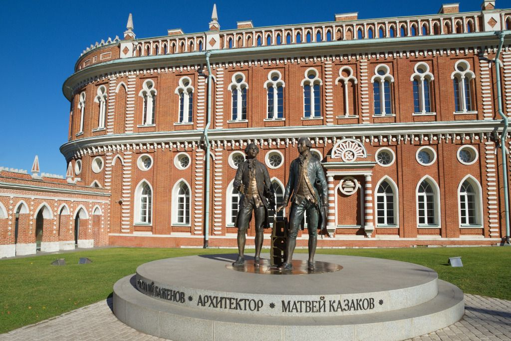 Brothaus im Freilichtmuseum Zarizyno in Moskau