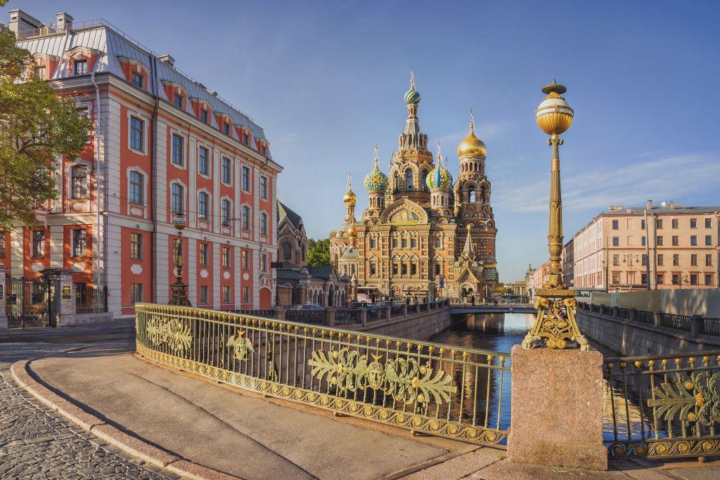 Dreifach Brücke in Sankt Petersburg