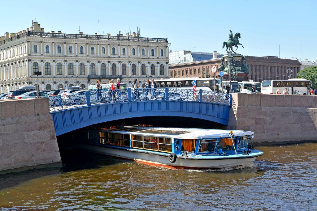 Blaue Brücke am Isaaksplatz