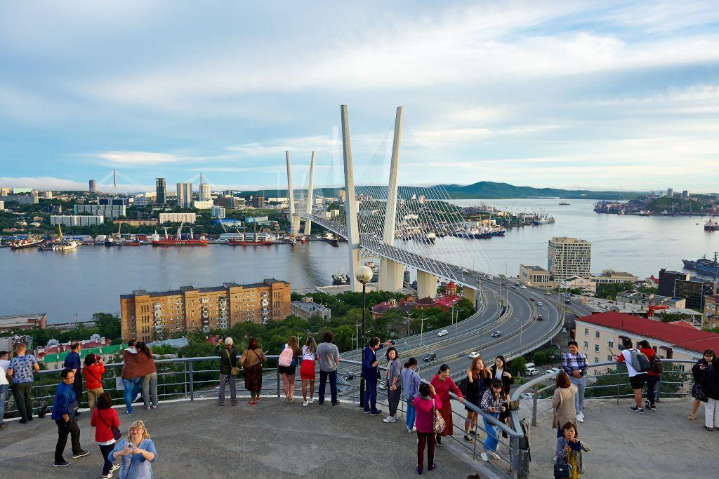 Adlernest Aussichtsplattform auf die Goldene Brücke