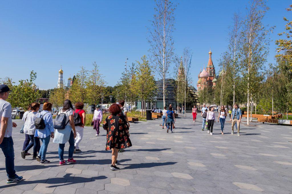 Free Walking Tour in Moskau im Sarjadje-Park