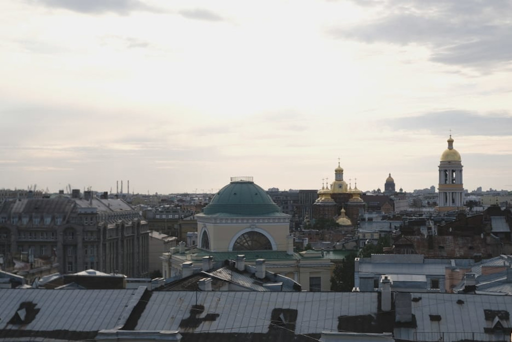 Sankt Petersburg Rooftop Tour