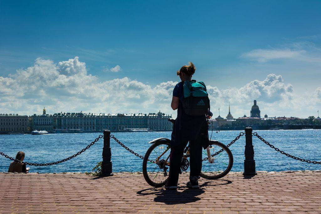 Fahrradtour durch Sankt Petersburg