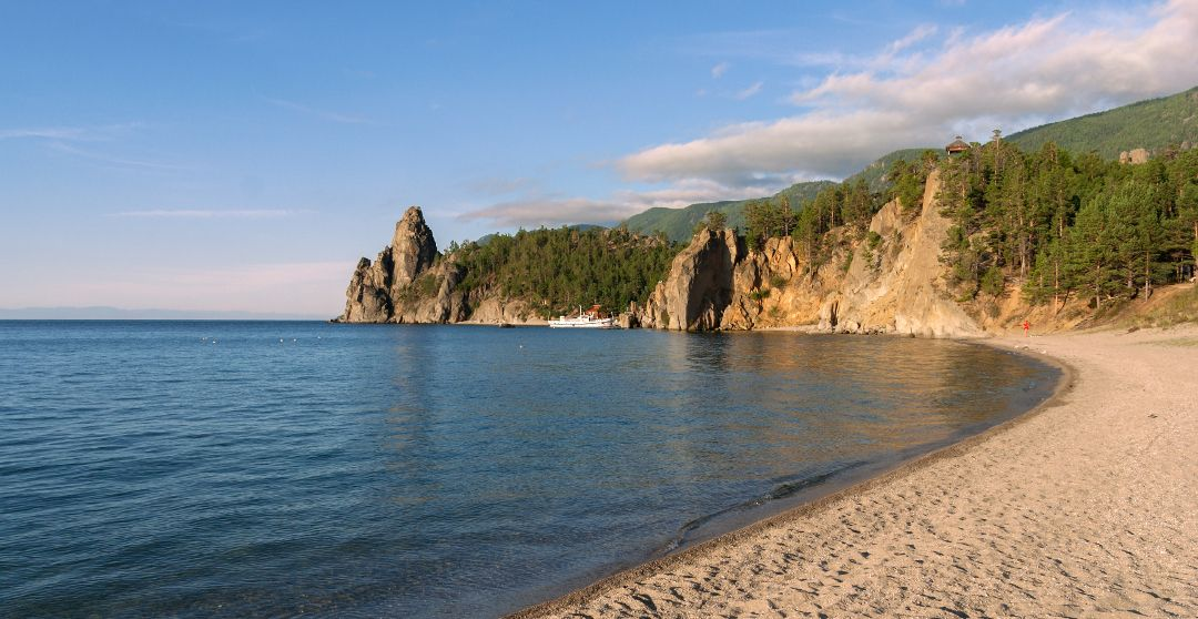 Sandbucht am Baikalsee - Schönste Strände und Buchten am Baikalsee