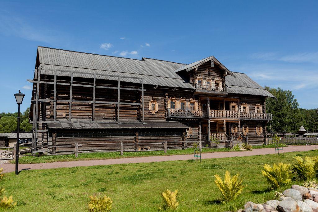 Kostin Bauernhaus im Bogoslovka Freilichtmuseu
