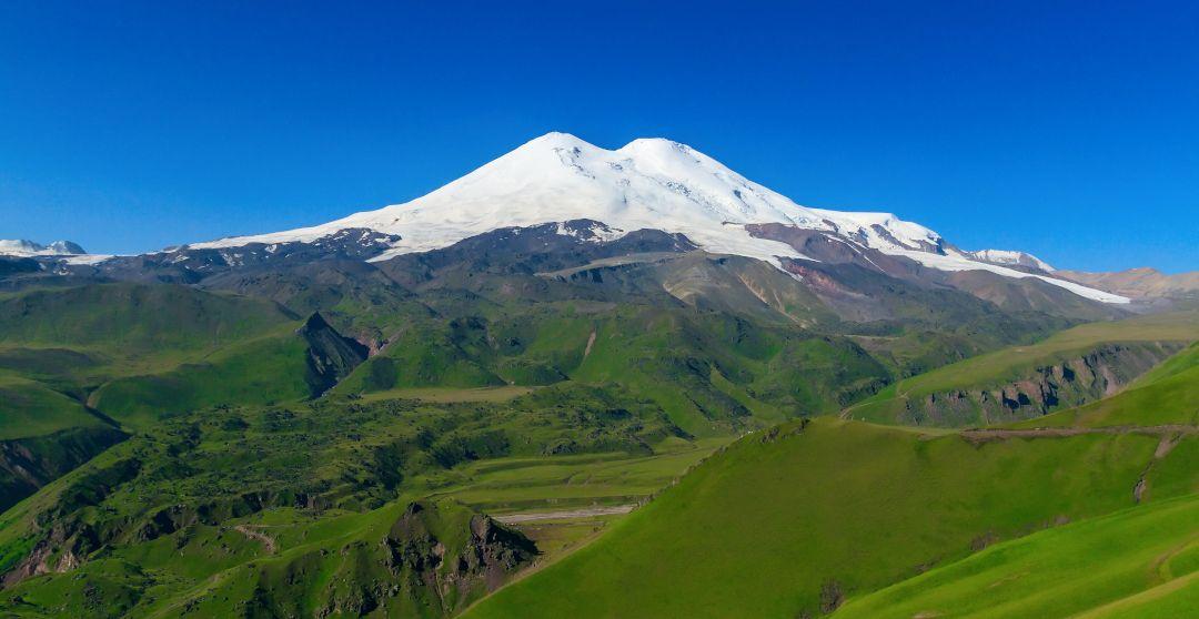 Elbrus in Russland - Höchster Berg Europas