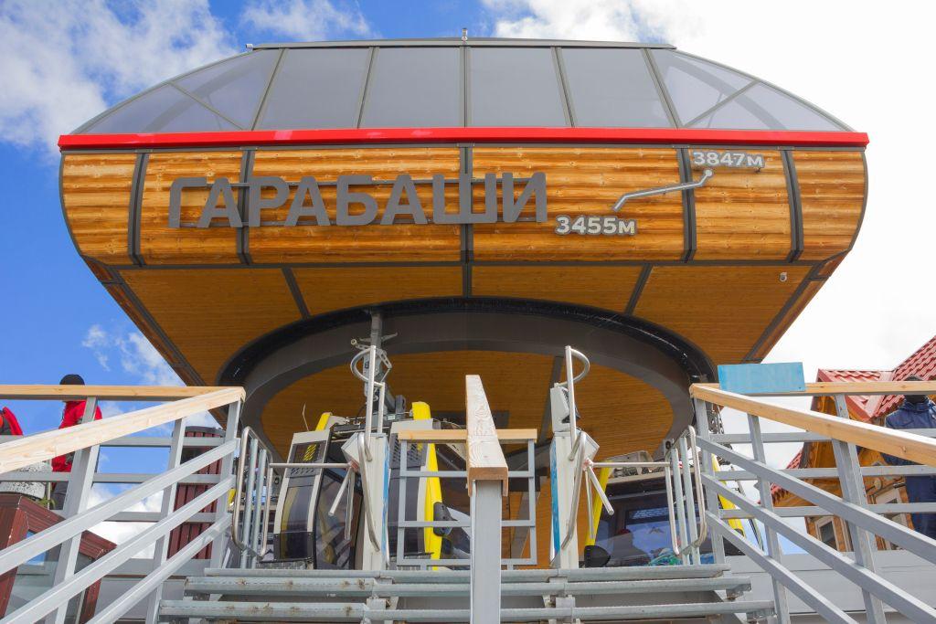 Liftstation Garabaschi am Elbrus