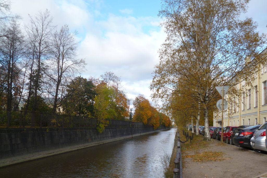 Obwodny Kanal in Kronstadt