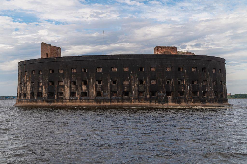 Alexander I. Fort in Kronstadt