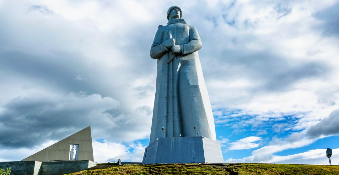 Aljoscha Statue in Murmansk