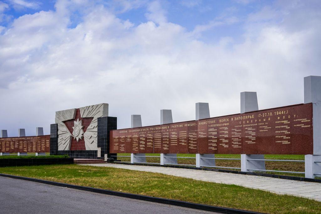 Gedenktafeln zum Zweiten Weltkrieg in Murmansk