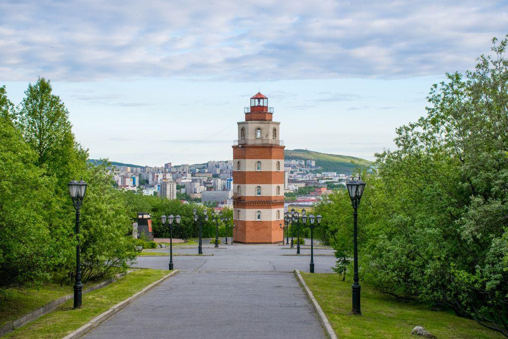 Leuchtturm Denkmal für verstorbene Seeleute