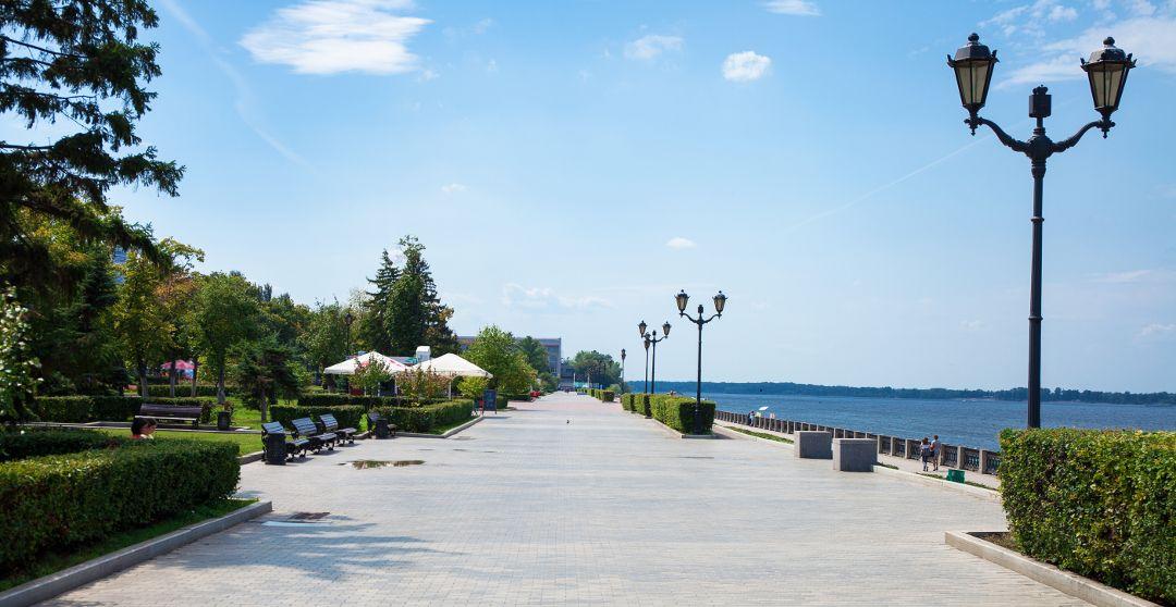 Wolgapromenade in Samara