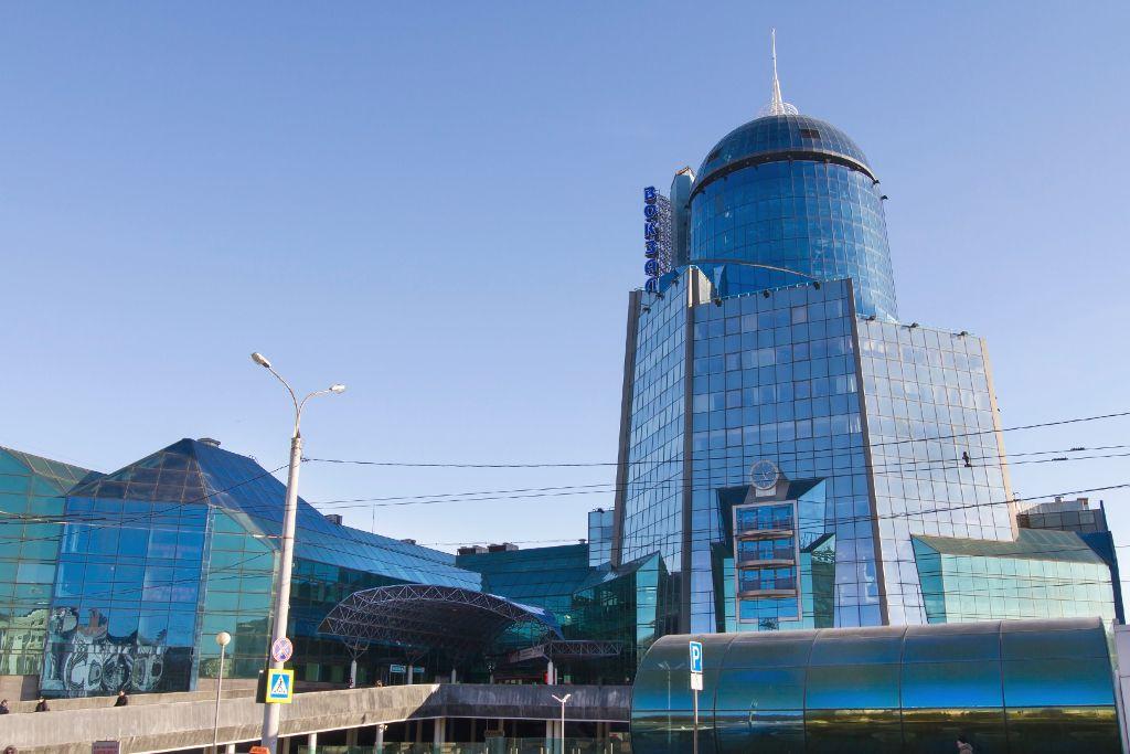 Hauptbahnhof in Samara
