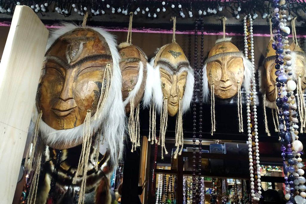 Schamanen Souvenirs am Baikalsee