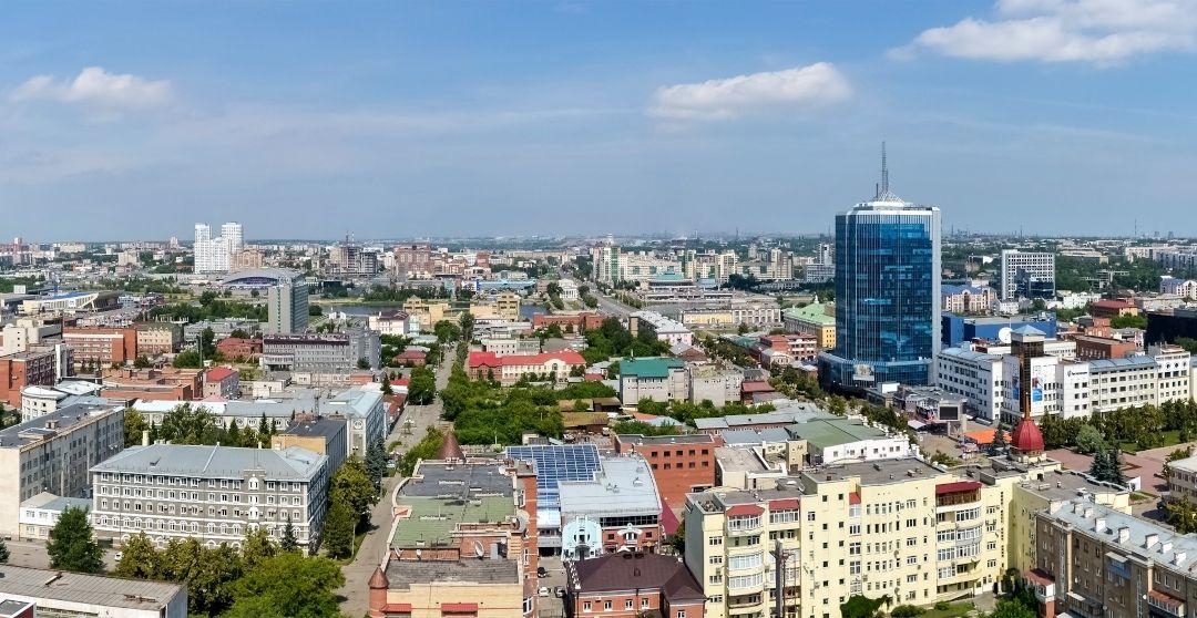 Tscheljabinsk von oben