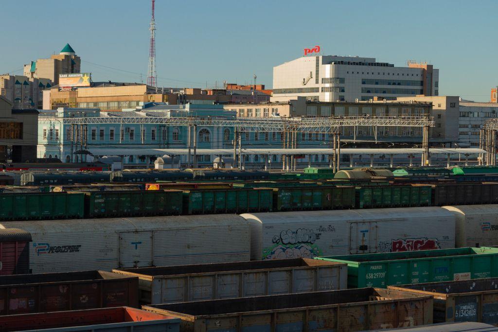 Bahnhof in Tscheljabinsk