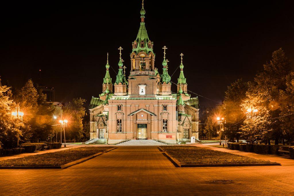 Alexander Newski Kirche in Tscheljabinsk