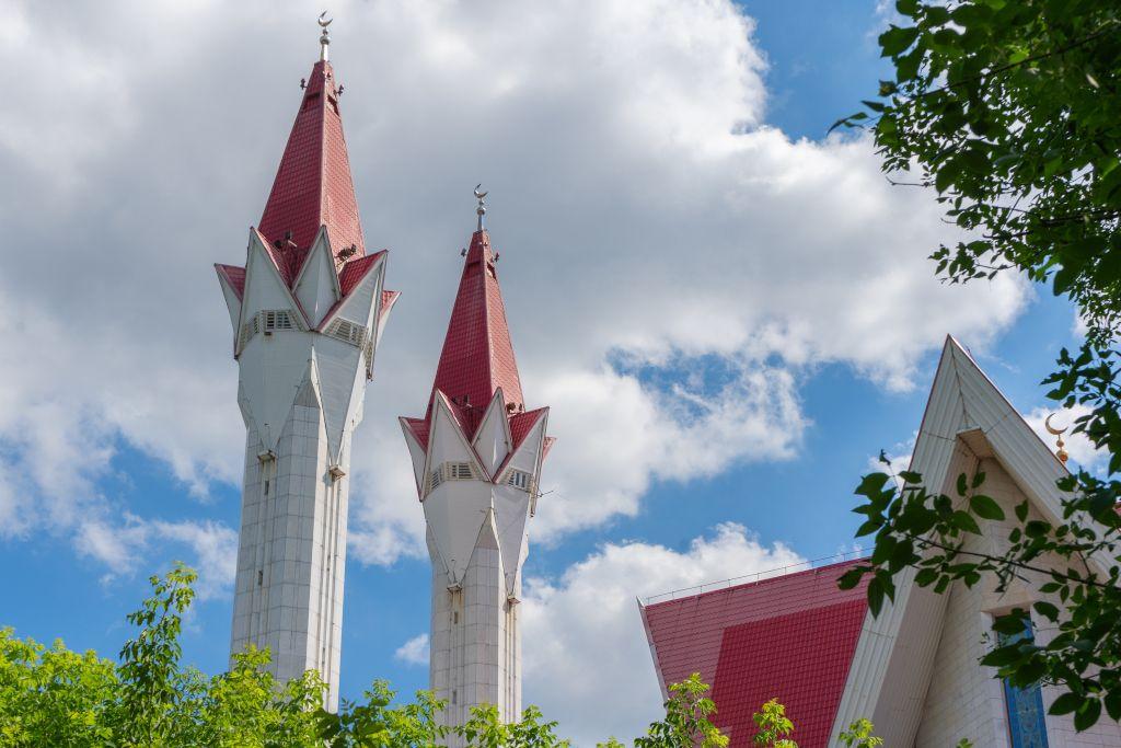 """Moschee """"Ljalja-Tulpe"""" in Ufa"""